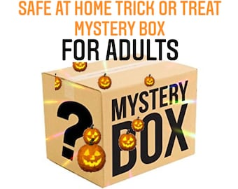Ready to Ship   Spooky Spa Self Care Mystery Box for Adults & Young Adults   Halloween   Trick or Treat Bag   Value up to 65