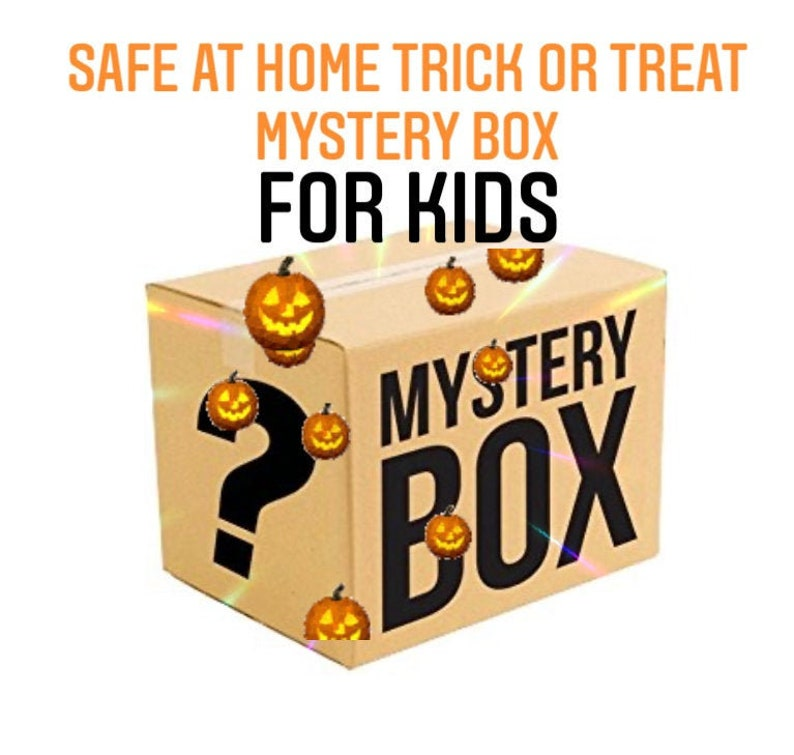 Ready to Ship  Spooky Mystery Box For Kids  Halloween  image 1