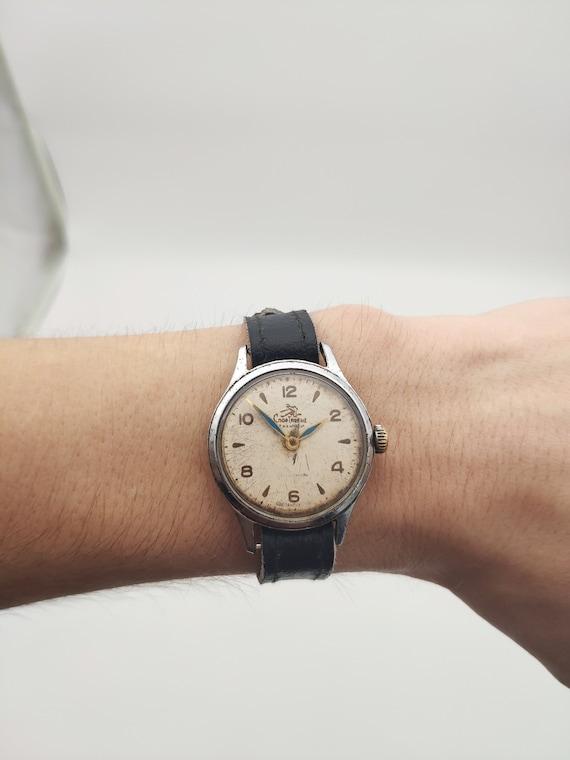 "Soviet watch, ""Sportivnye"" vintage watch, Pobeda w"