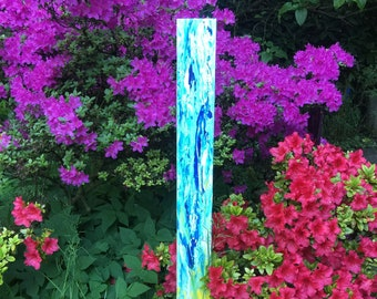 Garden stele - artistically designed