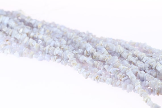 Chalcedony Beads Natural Chalcedony Chips Jewelry Supply Etsy