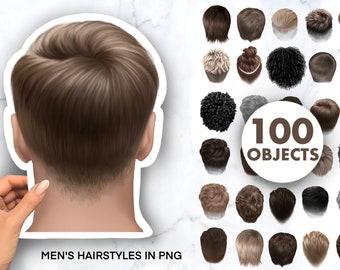 Hair Clipаrt, Natural Hair PNG, Men's Hairstyles, curly hair clipart, hair clipart png.