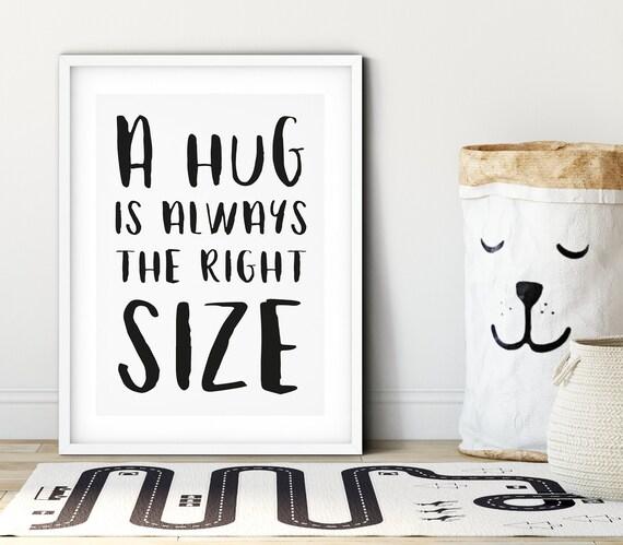 Nursery Wall Print |  Kids Wall Art | Kids Bedroom Print | Scandi Kids Decor | Kids Room Print | Playroom | Baby Shower | Winnie The Pooh