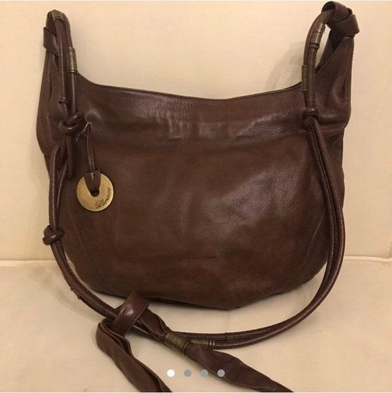 Blumarine leather handbag