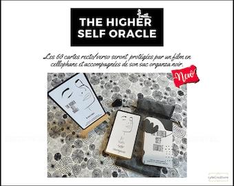 The Higher Self Oracle - 60 cartes oracle - affirmations positives - Version en Français et Anglais - Auto-édité