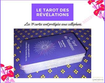 BEST SELLER - Le Tarot des Révélations + Sac organza + livret FR - 78 cartes - guidance et divination - Français-Anglais - Auto-édité