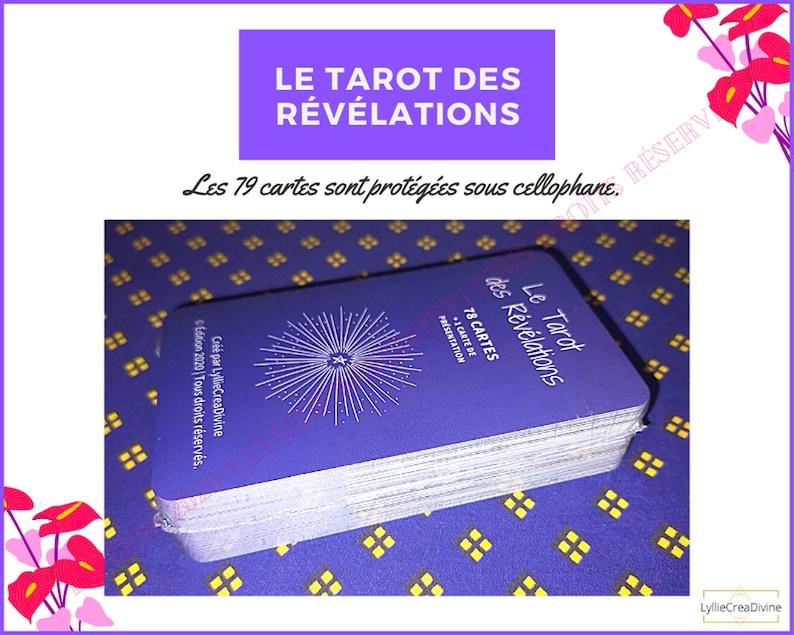 BEST SELLER  Le Tarot des Révélations  Sac organza  livret image 0
