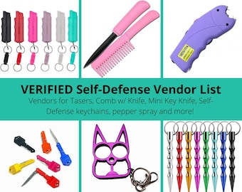 Self Defense Etsy