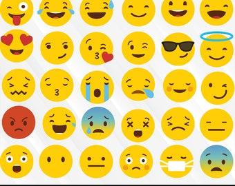 Emoji Cut Files Etsy