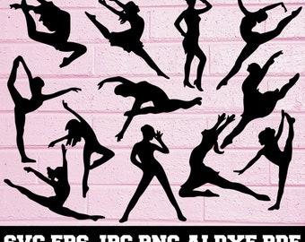 Dance Silhouette Etsy