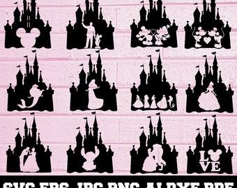 disney svg files for cricut mickey svg disney princesses svg Princess svg Disney svg kids svg disney svg disney castle svg