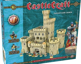 """Tehnolog Castle Craft: """"Knight's castle"""" 28 mm wargame - analogue Warhammer - with figures"""
