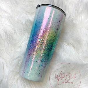 Unicorn burst Glitter Tumbler 20 Oz