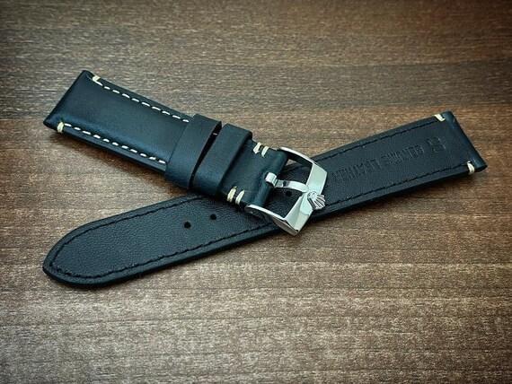 20MM Rolex Watch Strap Rolex leather strap Genuine