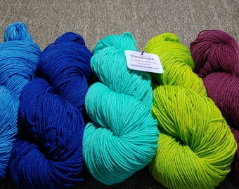 HIGHLAND WOOL Sportweight wool from the Peruvian Highlands - Your Color Not there? Tell me, I can make it!