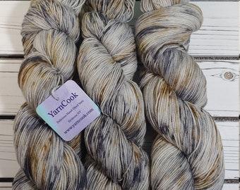 Birch   Sock Yarn / Fingering Weight / Shawl / Weaving / 70/30 /Superwash / Inspired by Nature