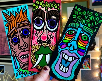 Trippy Face Painting Etsy