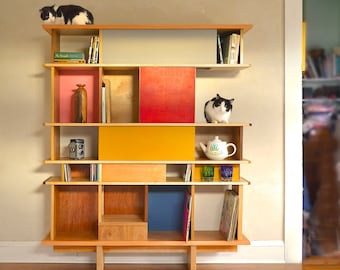 Cat Shelf Build Plans. DIY Mid Century Modern Furniture for You & Your Cat. How to Build Video and PDF Plans .