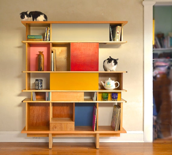 Cat Shelf Build Plans Diy Mid Century, Diy Modern Furniture