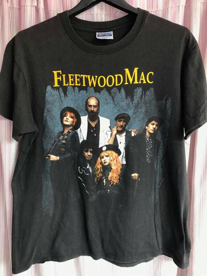 Vintage 1990 Fleetwood Mac tour t-shirt