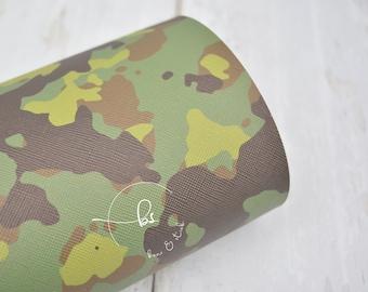 leather needlecase pixel camo design camouflage leather camo