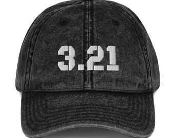 3.21, Vintage Cotton Twill Cap, Embroidered, Down Syndrome Awareness, Benefits the National Down Syndrome Society