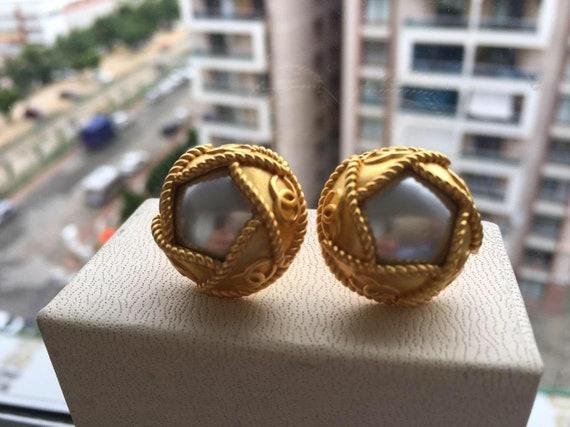 Chanel Vintage Earrings 1995