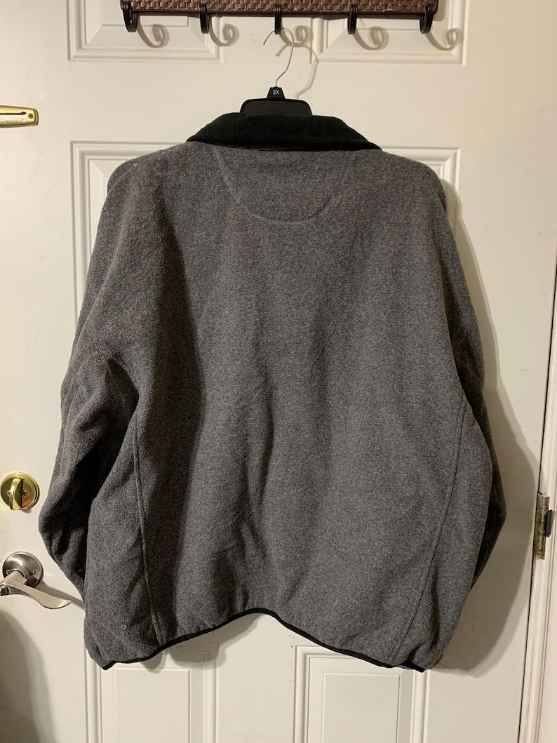 Vintage Chaps quarter zip fleece sweatshirt.