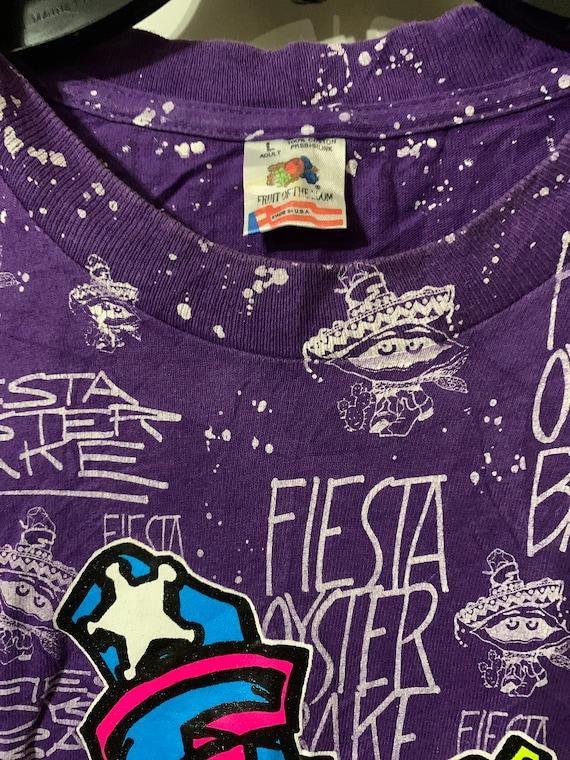 Mary\u2019s university Fiesta Oyster Bake T-shirt. Vintage  st