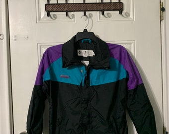 Vintage 90s Columbia sportswear jacket youth XL.