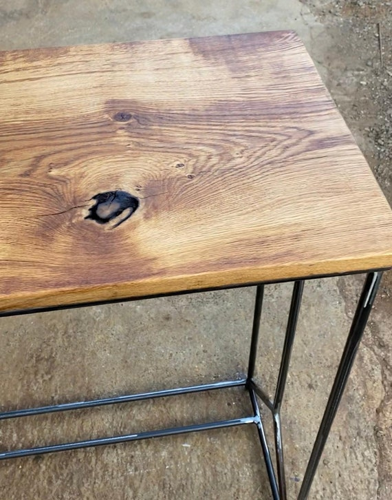 the top cover is missing//7485+6985 Loft Table Home Wood//Steel