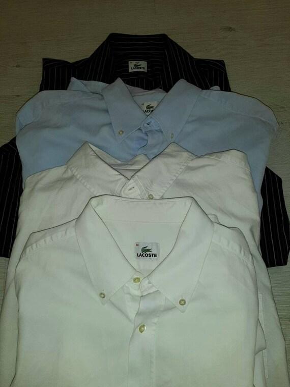 Vintage Lacoste oxfords shirts