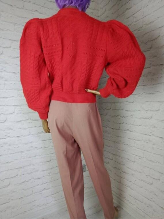 Vintage Austrian cardigan/trachten tyrolean/mutto… - image 4