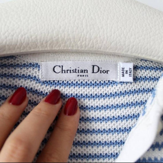 Christian Dior vintage striped dress/tennis dress