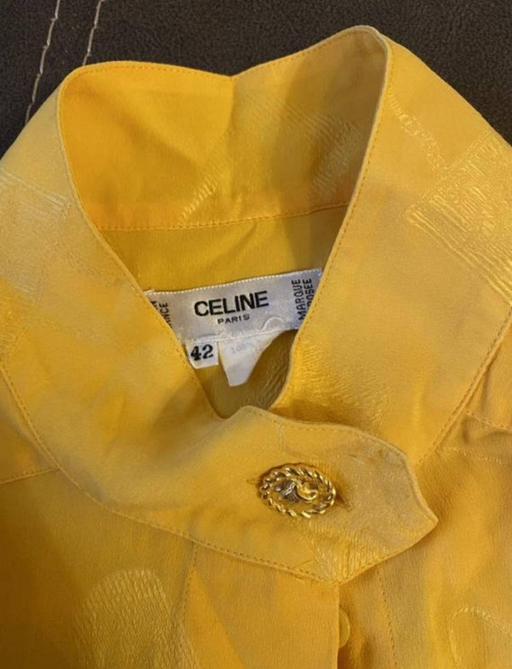 Celine vintage blouse silk
