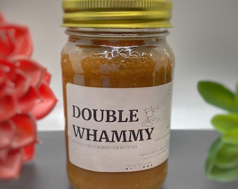 DoubleWhammy | Sea Moss and Burdock Root Gel 16oz