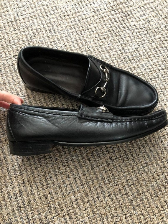 Vintage Gucci Horsebit Loafers MADE IN