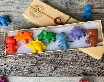 childrens gifts childrens party Dinosaur crayons stocking fillers party favours
