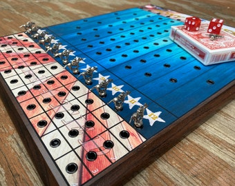 Magnetic Horse Race Board Game - 'Pony Express'   Tabletop Game