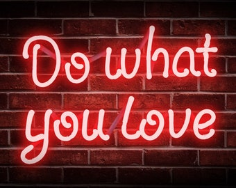 Red Neon Sign Etsy