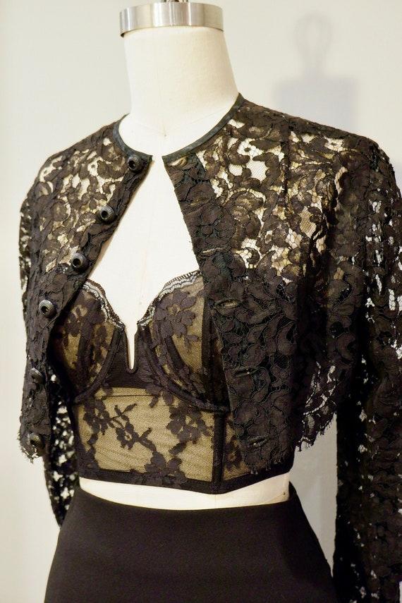 Vintage lace top - image 2