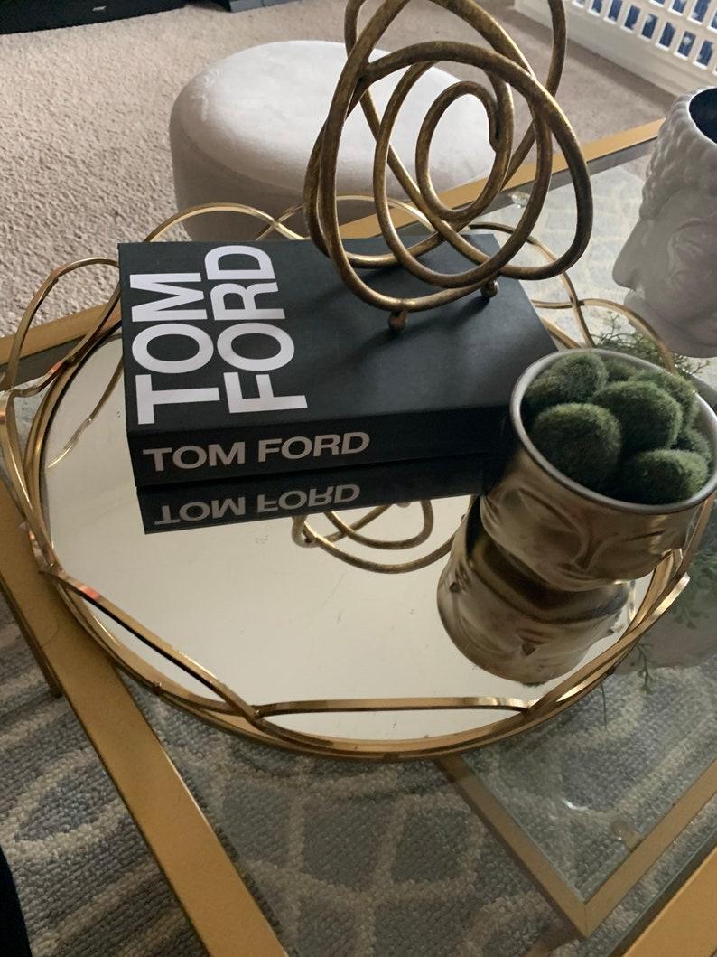 Faux TF Decorative Coffee Book