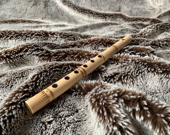 BRAND NEW MUSICAL INSTRUMENT HANDMADE WOOD CARVING NATIVE AMERICAN FLUTE