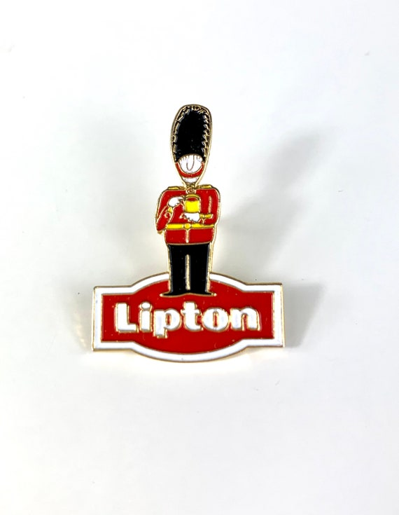 Vintage Lipton Tea Pin