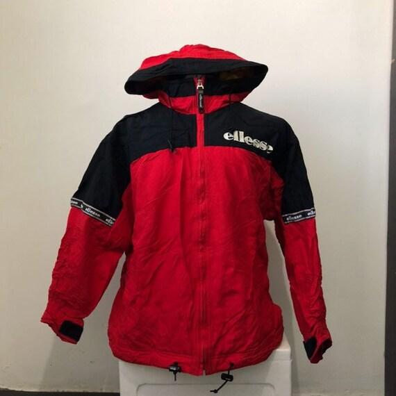Vintage Ellesse Ski Jacket Hoodie Deadstock Condit