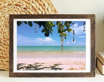 Khao Lak Beach Paradise Poster | Thailand Photography | Seascape Printing | Digital Download Beach Print | Holiday Poster | Instant Download