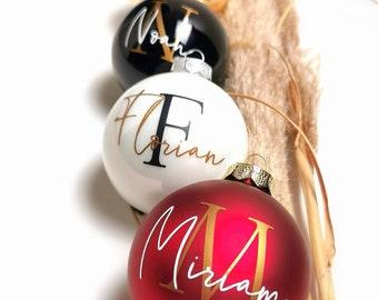 Christmas ball personalized   Gift idea   individually   Christmas   Family   Names