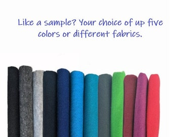SAMPLES ONLY: Up to 10 fabrics