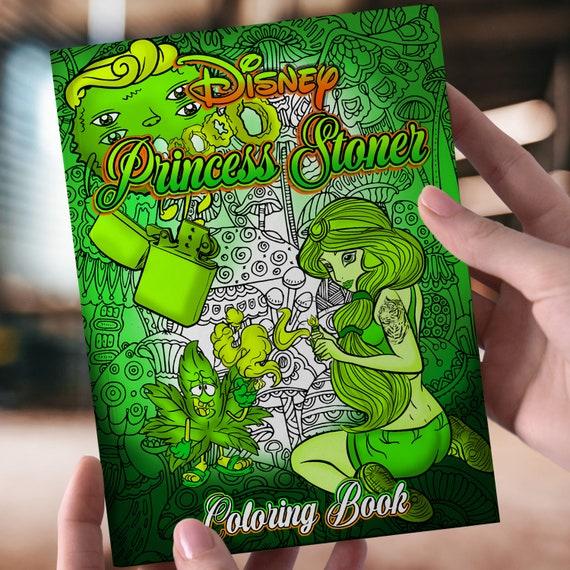 Disney Princess Stoner Coloring Pages - bmp-hit