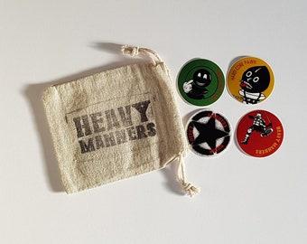 Comics Bagged Sticker Set